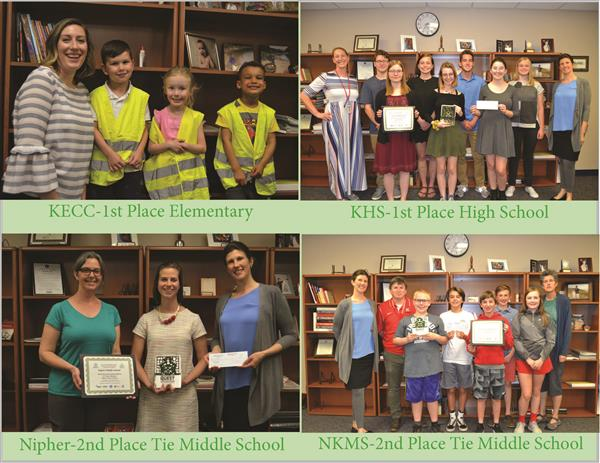 Four KSD Schools Place in Annual Green Schools Quest